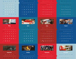 one page calender design a one page corporate calendar freelancer