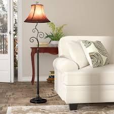 Really cool floor lamps Contemporary Clarice 61 Wayfair Floor Lamps Youll Love Wayfair
