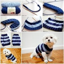 Free Knitted Dog Sweater Patterns Unique Easy Crochet Dog Sweater Tutorial Crochet And Knit