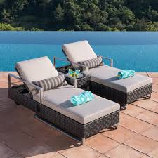 patio furniture for small spaces. Patio Furniture For Small Spaces - Chaise Lounge Set E