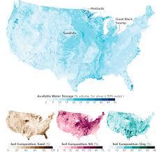 Soil Percentage Chart Soil Composition Across The U S