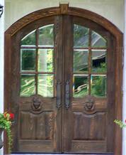 double front door. DbyD-3039 · Old World Exterior Wood Front Entry Door DbyD-3044 Double U