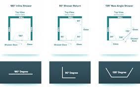 shower door design tip