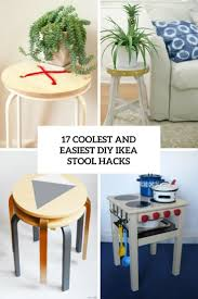 transforming ikea furniture. Coolest And Easiest Diy Ikea Stool Hacks Cover Transforming Furniture
