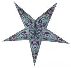 Faltbarer Advents Leucht Papierstern Weihnachtsstern Alaska Türkis 60x60x20 Cm ø60 Cm