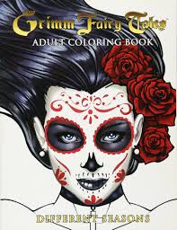 Amazon Com Grimm Fairy Tales Adult Coloring Book Different