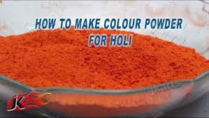 diy eco friendly color powder for holi how to make jk arts 170 you