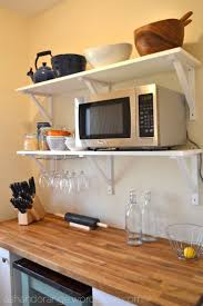 Kitchen Counter Storage 17 Best Ideas About Microwave Storage On Pinterest Hidden