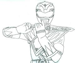 Small Picture Mighty Morphin Power Rangers Green Ranger Coloring Pages Mighty