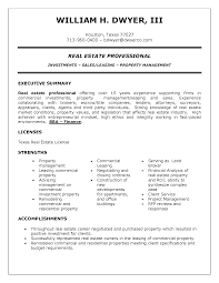 Entry Level Real Estate Resume Real Estate Broker Resume Best Of