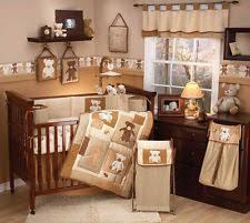teddy bear crib sheet teddy bear crib set ebay