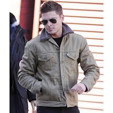 zac efron denim jacket with fur collar