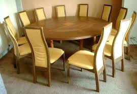round table for 8 dining