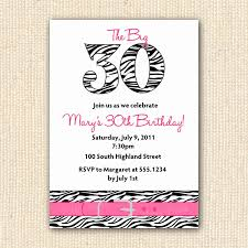 bachelorette party invitations free template elegant zebra print 30th birthday party invitations diy by yprints
