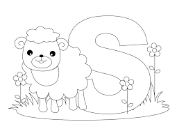 Free Printable Alphabet Coloring Pages A Z Archives Teanco Save