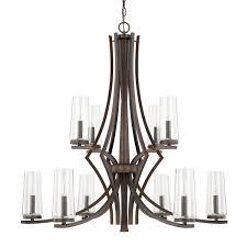 10 light chandelier