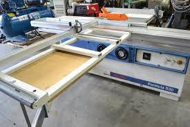 scm mini max formula s30 10in sliding table saw