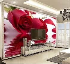 Satın Al Duvar Kağıdı Güzel Gül Kuğu Gölü Için Büyük Promosyon Çiçek Duvar  Kağıdı Güzel Nem HD Wallpaper 3D, TL300.71