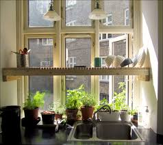 Garden Kitchen Windows Kitchen Innovative Kitchen Desoration With Diy Creative Shelving