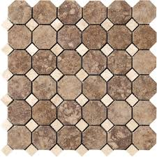 campione andretti 12 in x 12 in x 8 7 mm porcelain mosaic floor and