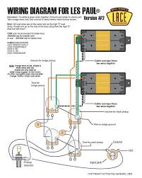 please help my re wiring my les paul forum this wiring diagram is simple and it works i believe that it is the stock wiring you are looking for the hots from the pups do not contact both volume