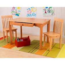 Table Set For Kids Avalon Table And 2 Chair Set Espresso Walmartcom