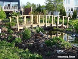 Small Picture homemade bridges over creeks build arched bridge for pond stream