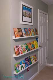 ikea picture ledges for childrens front facing book shelves