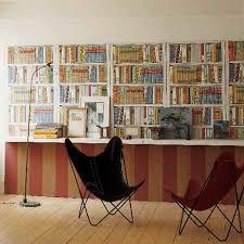 Decoration:Wallpaper Looks Like Bookshelves Wallpaper That Looks Like  Bookshelves for Interior Decoration