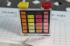 Oto Chlorine Test Color Chart The Color Of Ph Katie Rose