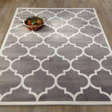 ottomanson paterson collection moroccan trellis design area rug