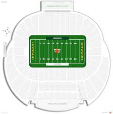University Of Oregon Football Stadium Seating Chart Autzen Stadium Oregon Seating Guide Rateyourseats Com