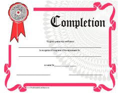 Training Certificates Templates Free Download Recognition