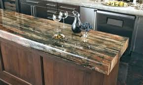 lovely wood look countertops home improvement wood countertops