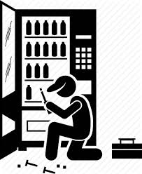 Vending Machine Repair Service Cool Fix Machine Repair Service Technician Vending Icon
