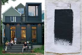 best exterior black house paint colors benjamin moore black forest green gardenista