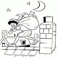 Kleurplaten Van Sint En Piet Afbeelding Sinterklaas En Zwarte Piet