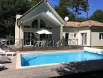 4 * VILLA WOOD HOUSE (6 PEOPLE), ON BISCARROSSE GOLF COURSE ...