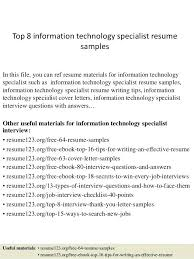 Sample Technology Resume – Resume Tutorial Pro