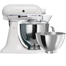 kitchenaid artisan ksm160 stand mixer white 637 00