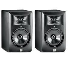 jbl monitor speakers. 2 x jbl lsr305 powered active studio monitor speaker jbl speakers