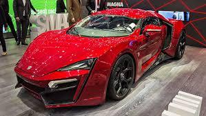 la w motors lykan hypersport sortie en 2016 est à la troisième place dans le clement des voitures les plus chères pour cette ée