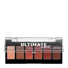 nyx professional makeup ultimate edit eye shadow palette warm neutrals lookfantastic
