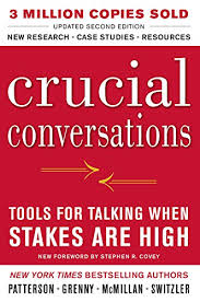 crucial conversations summary amazon com crucial conversations tools for talking when stakes are