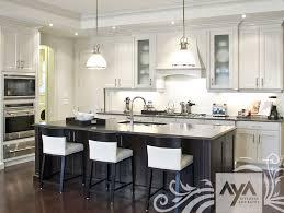 aya kitchen transitional style