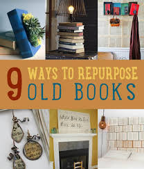 9 diy projects made from old books art of upcycling