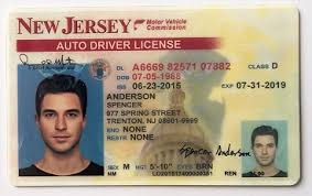 Jerse License New Jerseys Drivers