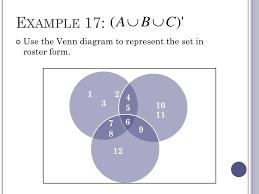 A U B U C Venn Diagram Ppt Section 1 5 Powerpoint Presentation Id 2083763