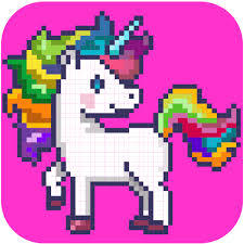 Color By Number Pixel Art Coloring Pages Amazoncouk Appstore