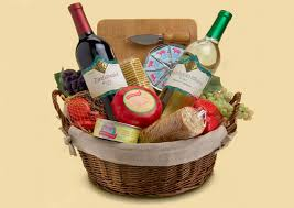 gluten free gift baskets with wine